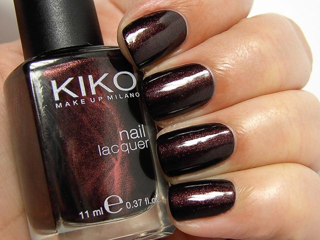 Kiko Pearly Chocolate Noir 374   Simply Nails   Pinterest