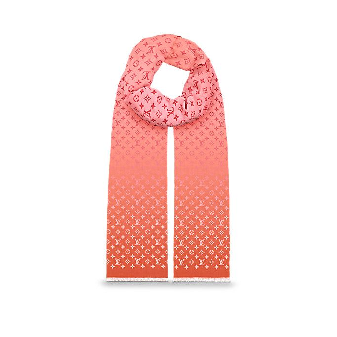 Étole Monogram Sunrise FEMME ACCESSOIRES Écharpes et foulards   LOUIS  VUITTON 1aaa0a85cac