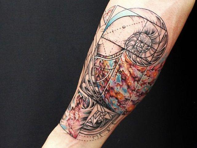 Tattoo Abstract Tattoos Abstract Tattoo Designs Abstract Art Geometric Abstract Tattoo Designs Fibonacci Tattoo Abstract Tattoo