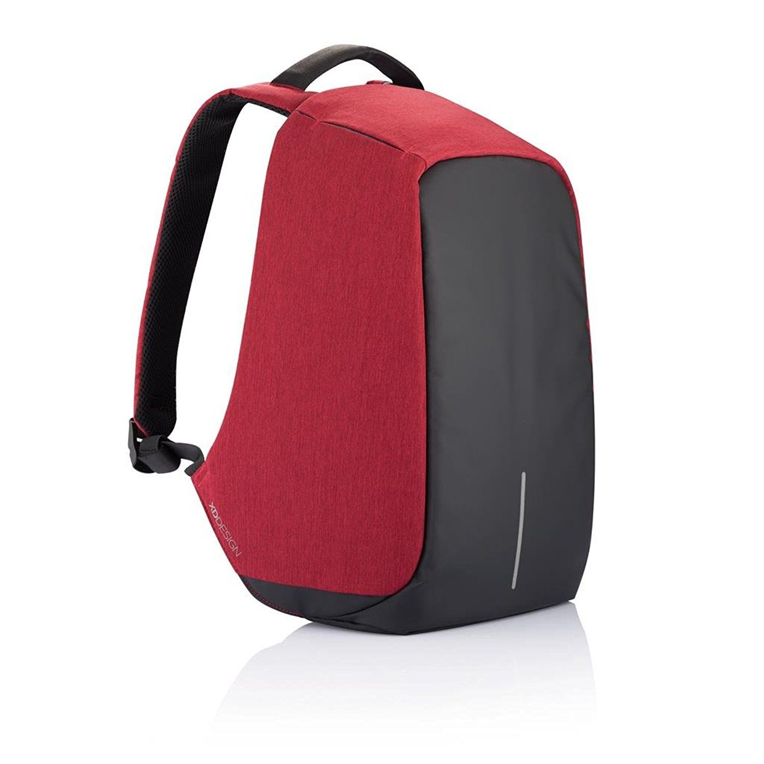 The Original Bobby Anti-theft Backpack by XD Design - Red  9a53f5455426b