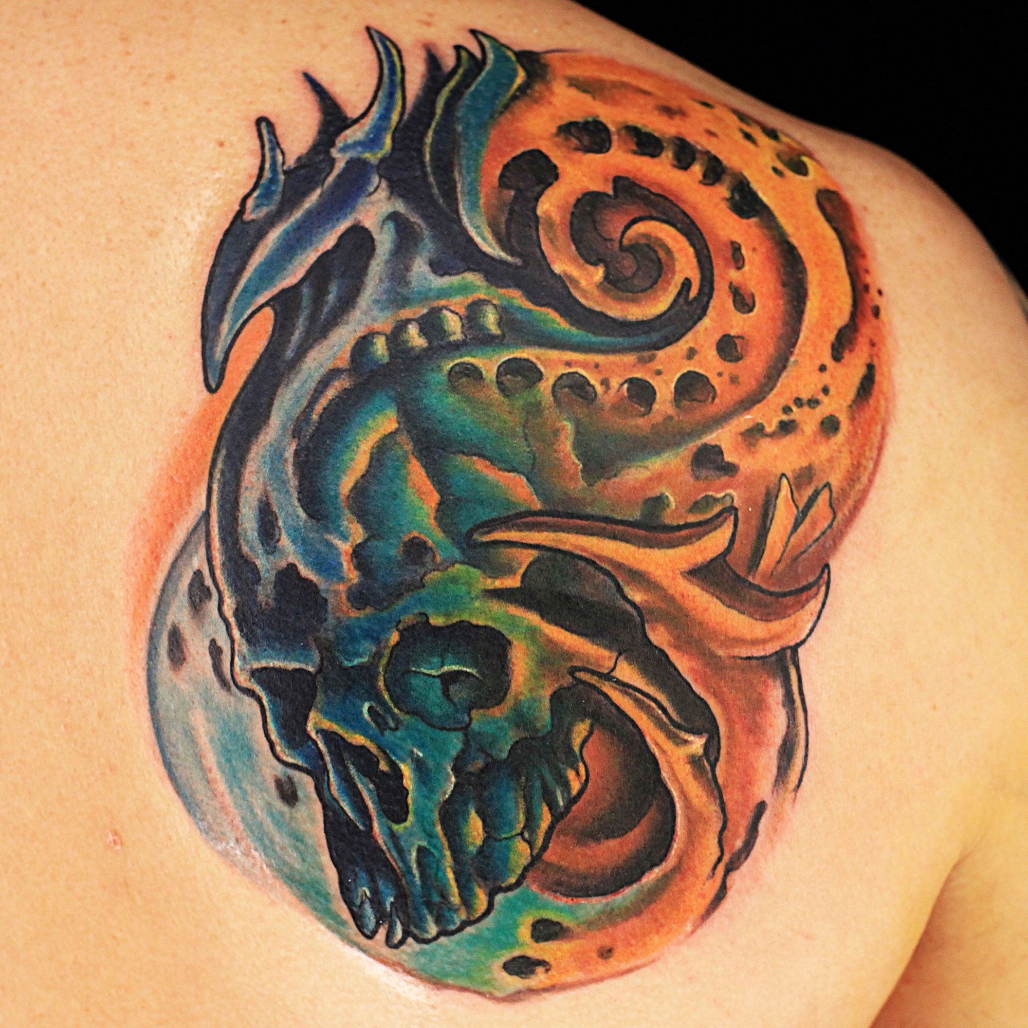 Tattoo done by Jason Clay Dunn on iNk Master season 3