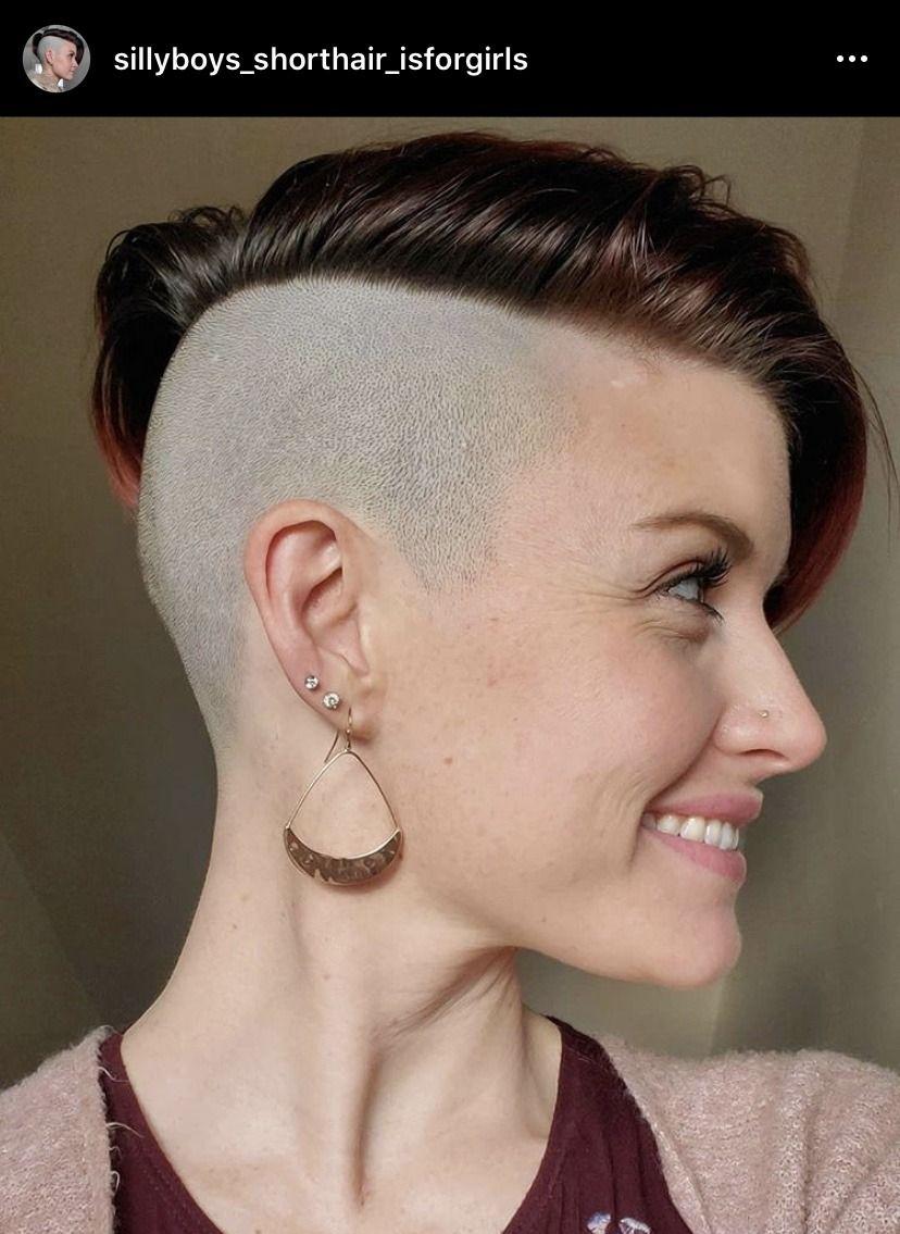Men, Women, Haircuts in 2020 | Short hair styles, Undercut