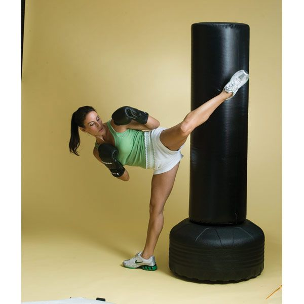 free standing heavy bag revgear large heavy duty punching