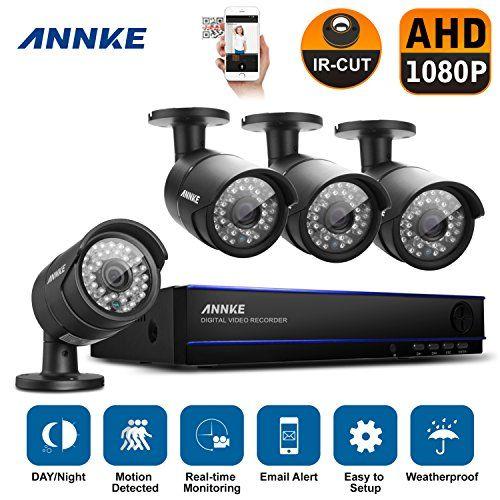 Annke 8CH 1080P HD CCTV DVR System 4 High Res  19201080P 2 1