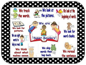 Reading workshop anchor chart we are super readers using strategies pinterest reader and charts also rh