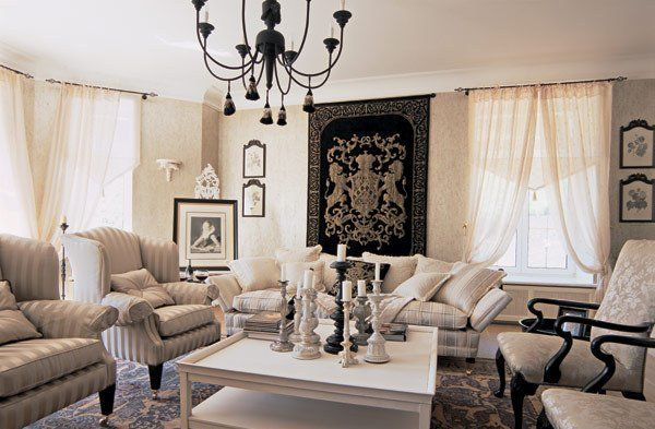 French Inspired Living Rooms   French Style. Living Room 5. Autumn    Design: Home Sweet Home   Pinterest   French Style, French Living Rooms And  Living ...