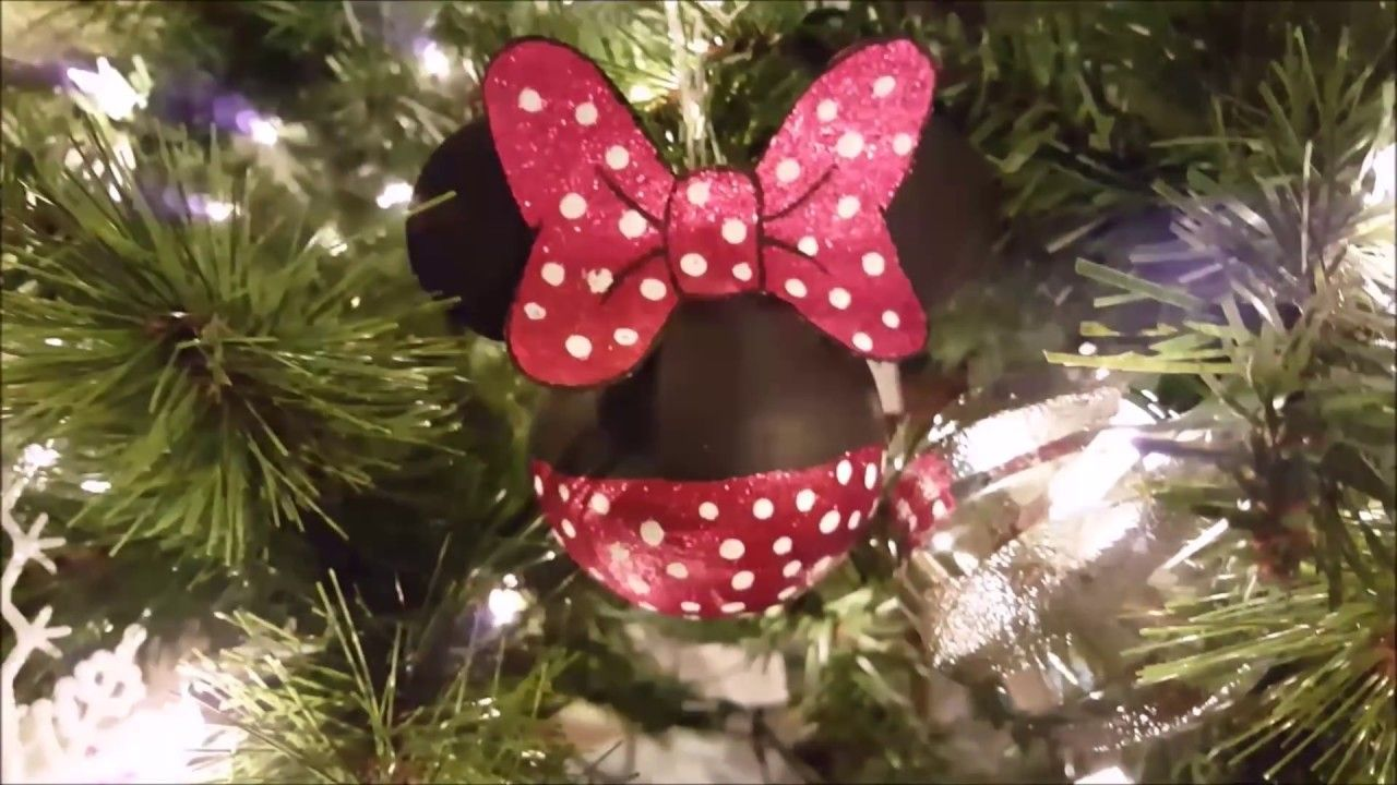 3 easy diy disney christmas ornaments youtube