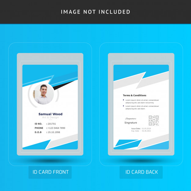 Corporate Office Employee Id Card Template Employee Id Card Id Card Template Card Template