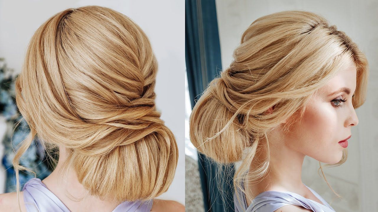 Textured Bun For Thick Hair Tutorial Wedding Hairstyle For Long Thick Hair Youtube Thick Hair Styles Hair Styles Long Thick Hair