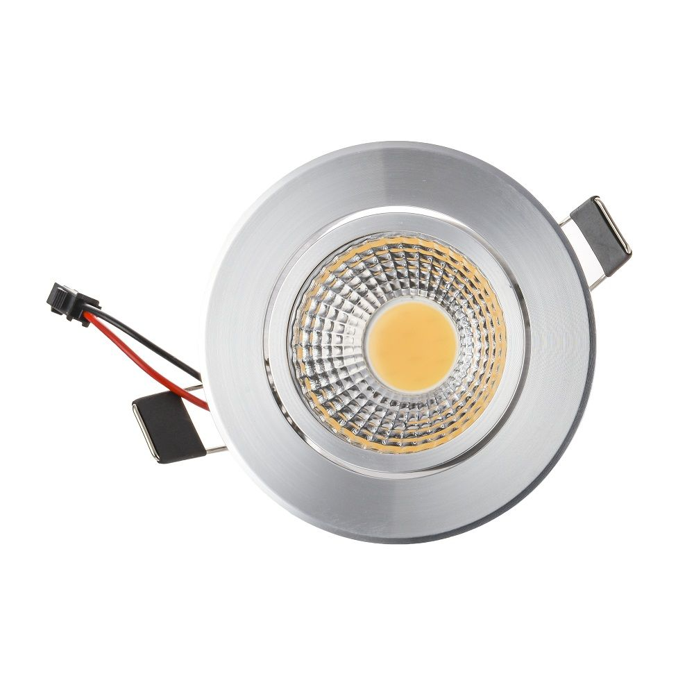 Round Downlight LED Cabinet Light Best Quality Dimmable Led Recessed Lights Led for Kitchen Led Light  sc 1 st  Pinterest & 1pcs COB Led Downlight Dimmable Lamps 3W 6W Led Spot Light Ceiling ...