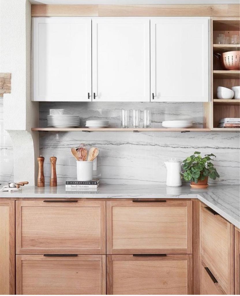 Warm Wood Returns In 2020 Wooden Kitchen Cabinets Wood Kitchen Wood Kitchen Cabinets