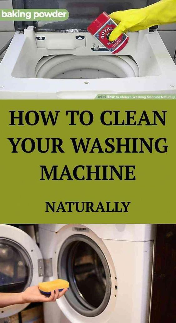 How To Clean A Washing Machine Naturally Health Articles Wellness Health And Fitness Articles Good Health Tips