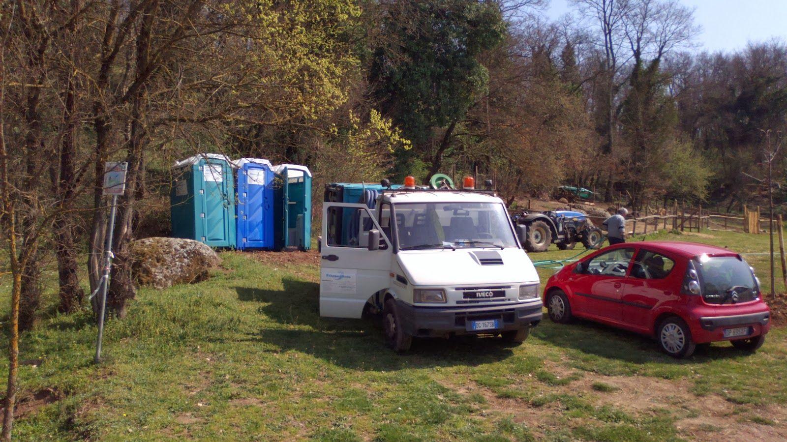 Noleggio bagni chimici roma