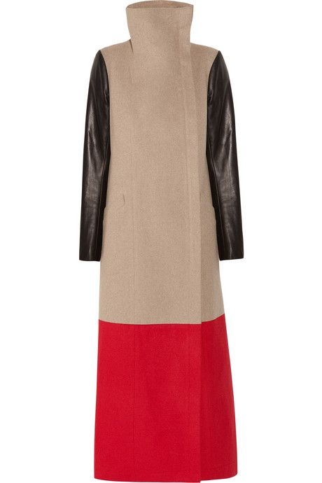 625b82656cd3 Mason+by+Michelle+Mason+Color-block+wool+and+cashmere-blend+coat ...