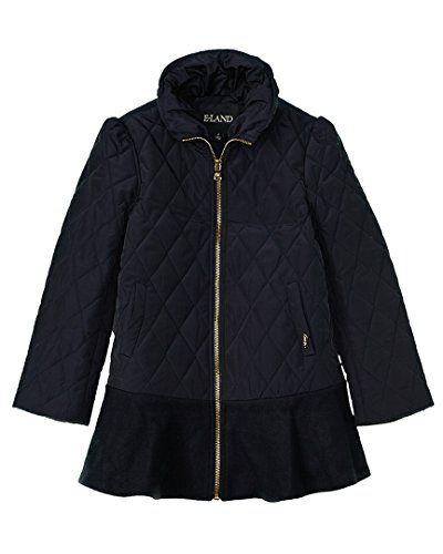 820dad4d6985 E Land E-Land Girls Kids Girls  Quilted Jacket