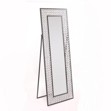 Crystal Bling Cheval Floor Mirror | Floor mirror, Cheval mirror and ...