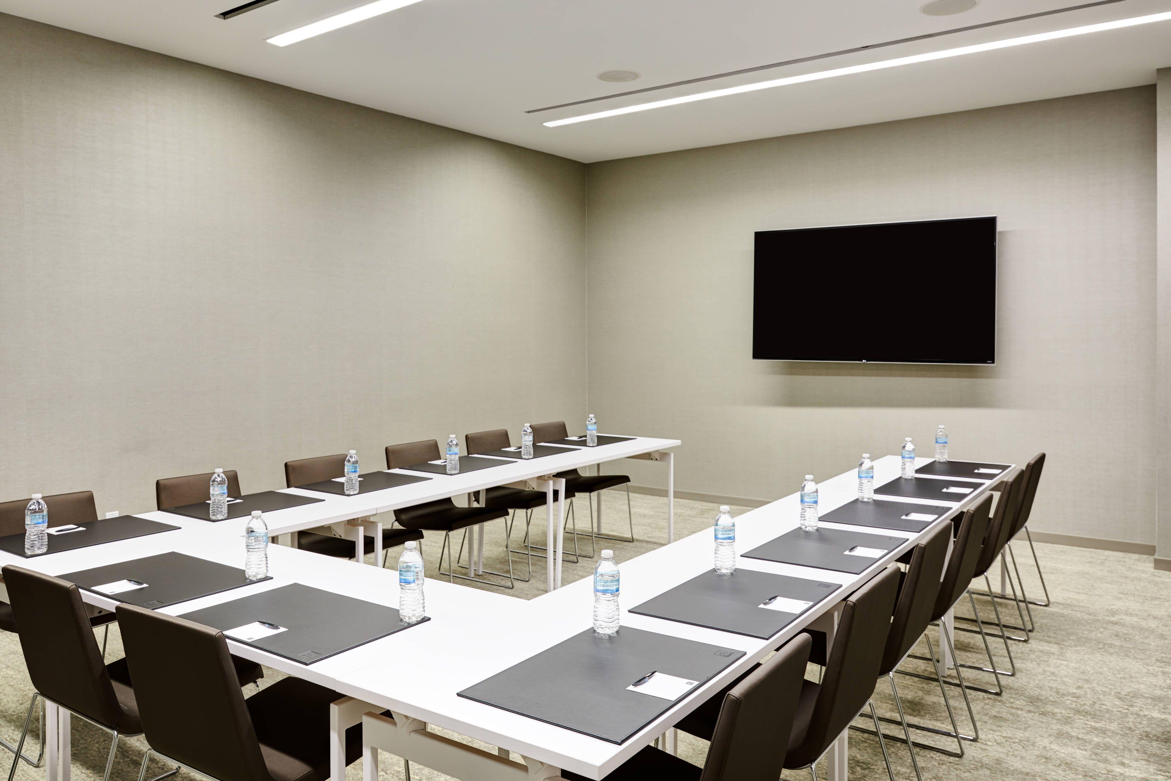 Ac Hotel Irvine Meeting Room U Shape Setup Comfort Hotel