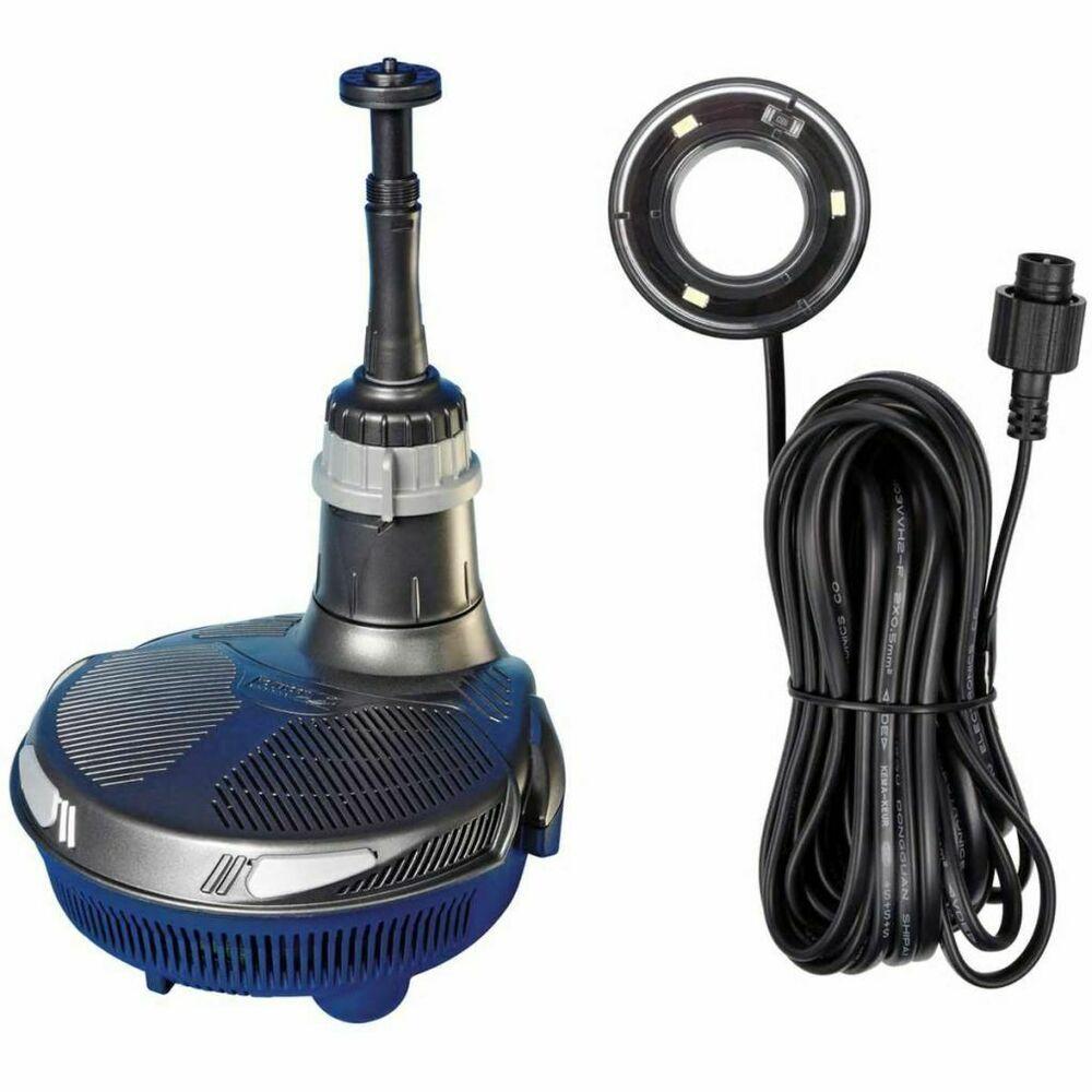 Ebay Sponsored Hozelock All In One Pumpe Mit Led Licht Teichpumpe Filterpumpe Mit Beleuchtung Teichpumpen Led Licht Led