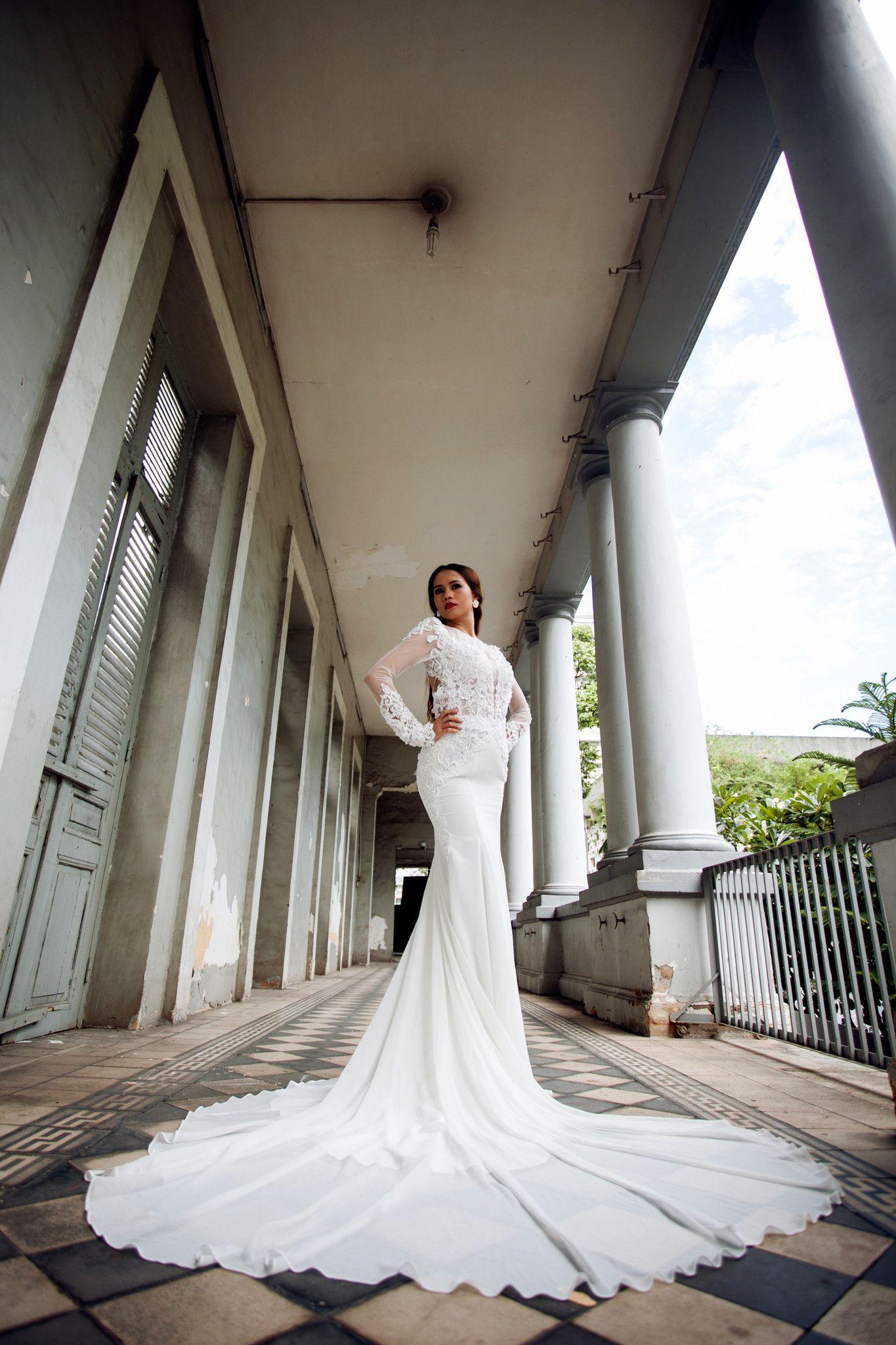 48+ Sleeve keyhole back wedding dress information