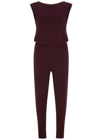 Mulberry T-Shirt Jumpsuit - Rompers & Jumpsuits - Clothing