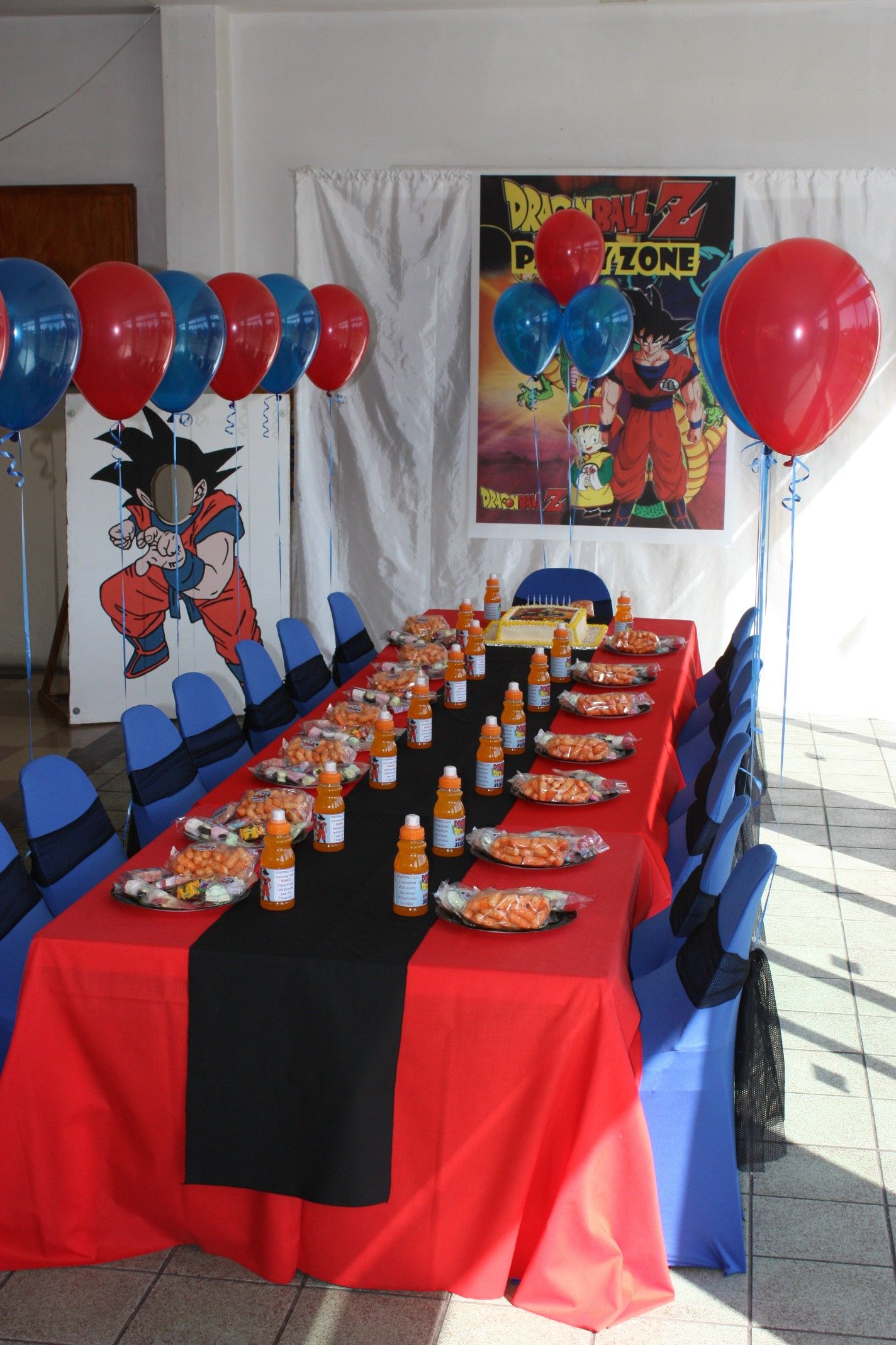 Dragonball z party kids zone pinterest dragon ball for Decoration dragon ball