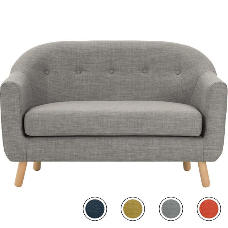 Lottie 2 Seater Sofa Chalk Grey Kitchen Sofa 2 Seater Sofa 2 Seater Corner Sofa