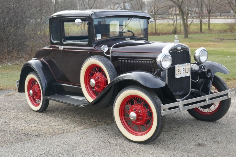 Used 1931 Ford Model A -5 WINDOW COUPE WITH RUMBLE SEAT- SEE VIDEO ...