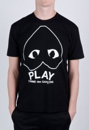 ef854ad4b918 T-Shirt w Upside Down Heart - Play CDG