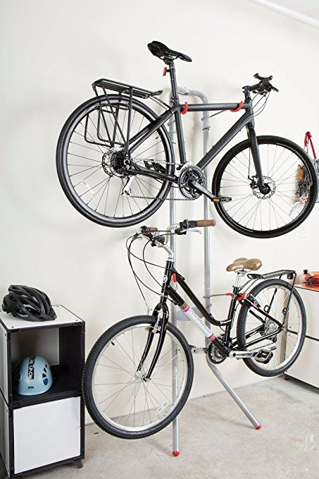 Amazon.com  Delta Michelangelo Two-Bike Gravity Stand  Bike Rack Lean  & Amazon.com : Delta Michelangelo Two-Bike Gravity Stand : Bike Rack ...
