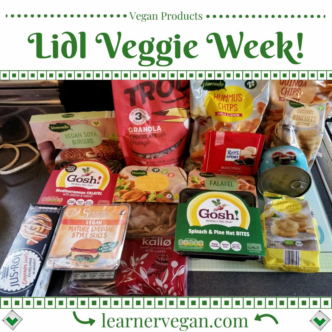 It S Veggie Week At Lidl Uk That Means There S Loads Of Vegetarian And Vegan Goodies On Offer Bot Vegan Supermarket Easy Vegan Meal Plan Vegan Recipes Easy
