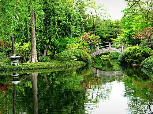 The Quieter You Become The More You Can Hear Baba Ram Dass Japanese Garden Japanese Garden Design Botanical Gardens