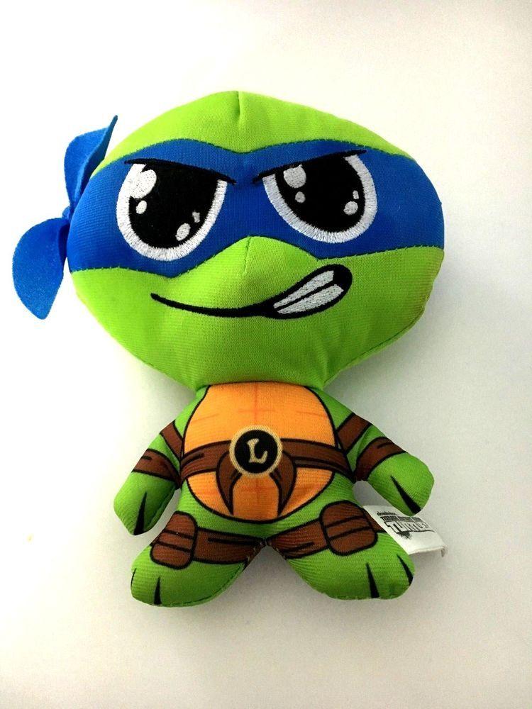 Doll Plush Turtles Teenage Ninja Leo Leonardo Mutant Nickelodeon w0NO8vmn