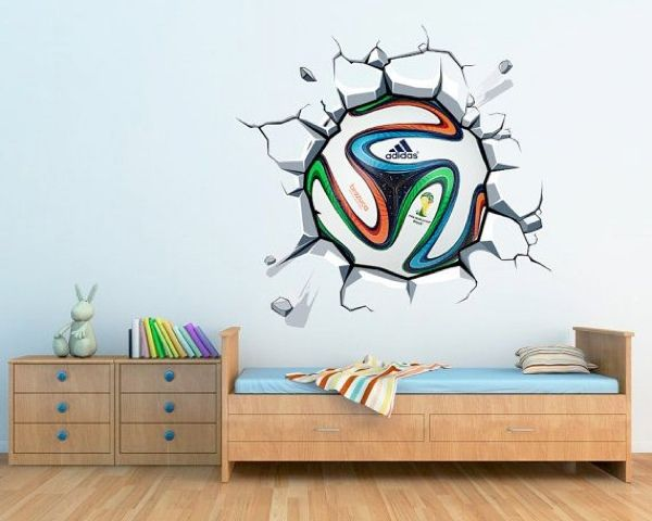 Football Wall Decals Bedroom Walls | Tyres2c