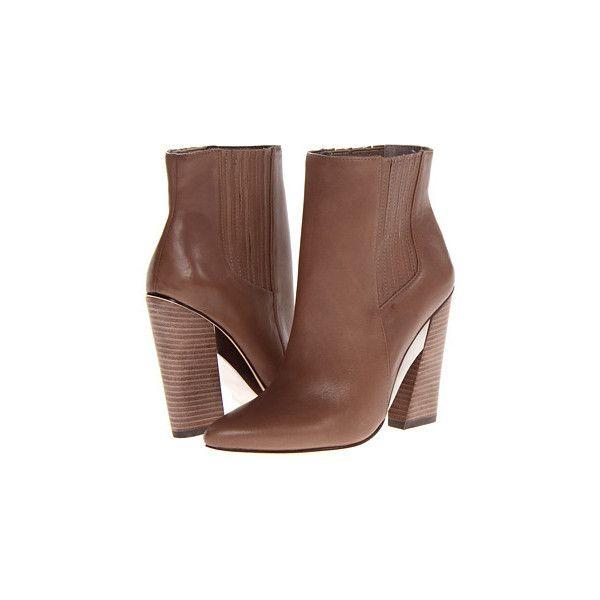 bcbg maxazria metild beige leather high heel bootie 160