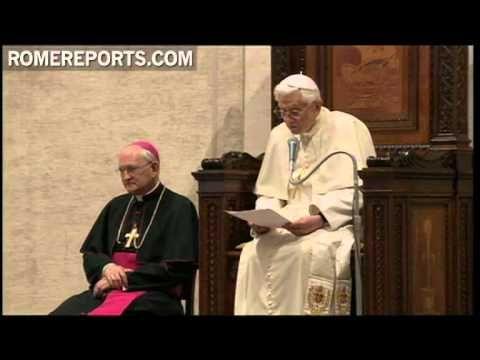 Papa pide a los sacerdotes que impulsen el sacramento de la confesión - YouTube