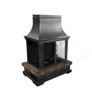 bond manufacturing sevilla 36 in wood burning outdoor fireplace rh pinterest com