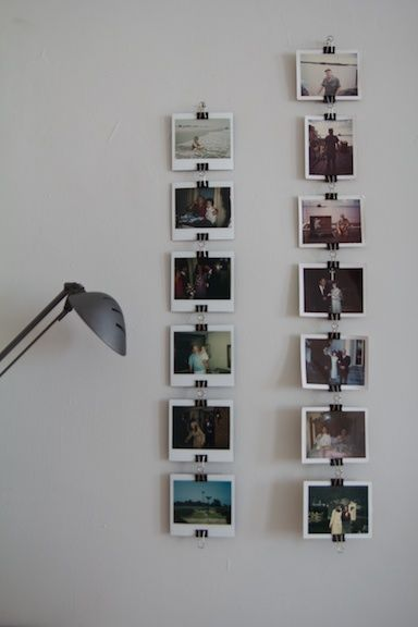 When searching the web for an inventive alternative to framing a poster, I  came across  Deluxe Hang-All Metal Slatwall Clips