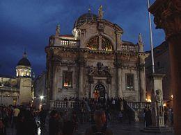 Sobre Croácia Igreja de São Vlaho los Dubrovnik