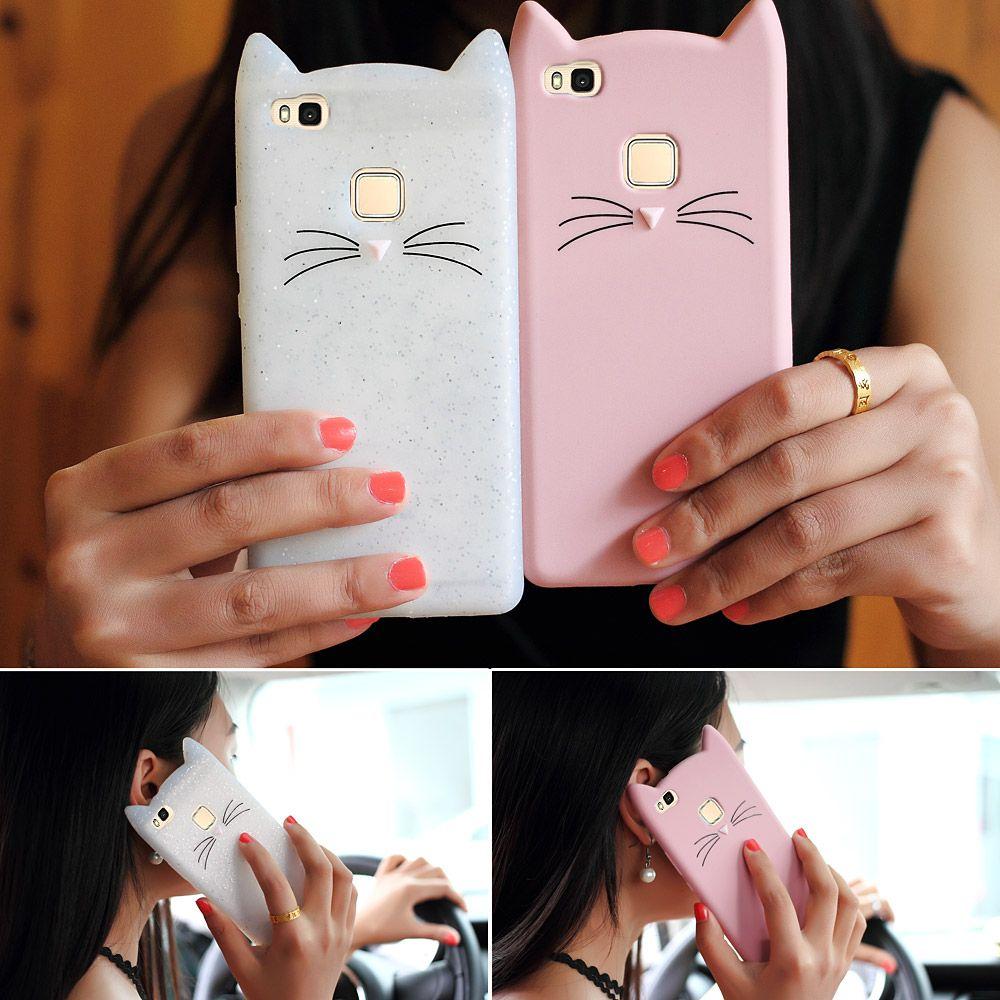 for Samsung Galaxy A3 A5 (2017) Huawei P9 Lite Case Cute 3D ...