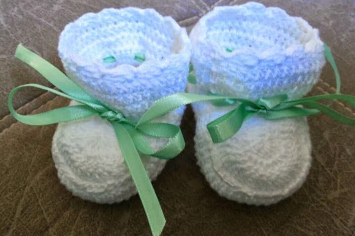 Crochet Sapatinhos para bebê - 103198663999176401825 - Álbuns da web do Picasa