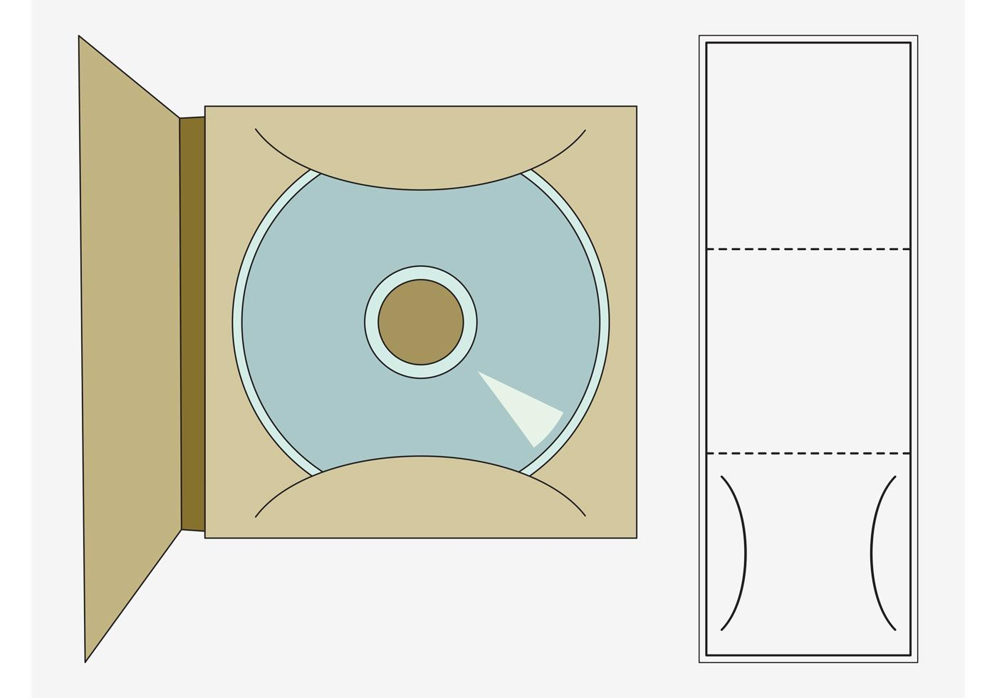 CD Case Template | Templates | Pinterest | Cd cases, Template and ...