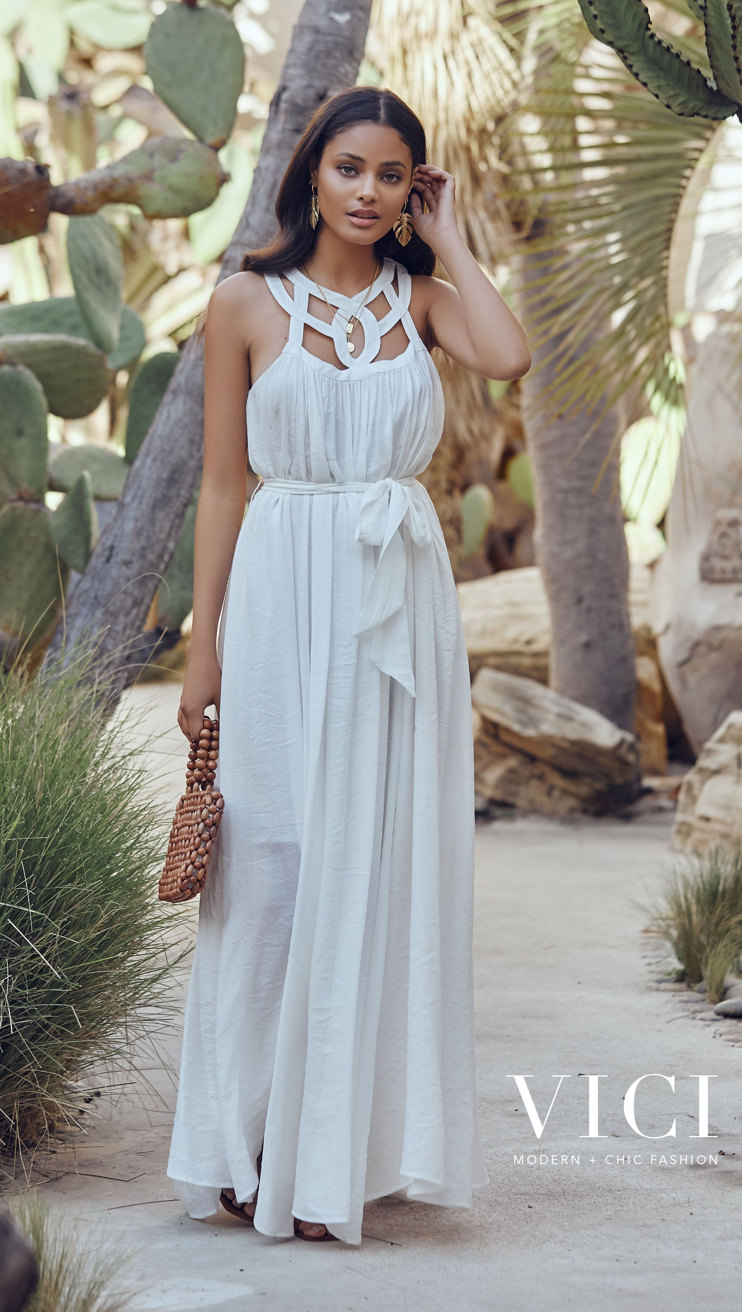 Vici Shop Must Have Summer Dresses Save 20 With Code May20 Dresses Charming Dress White Maxi Dresses [ 4242 x 2400 Pixel ]