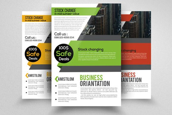 Business finance Company Flyer by Business Flyers on