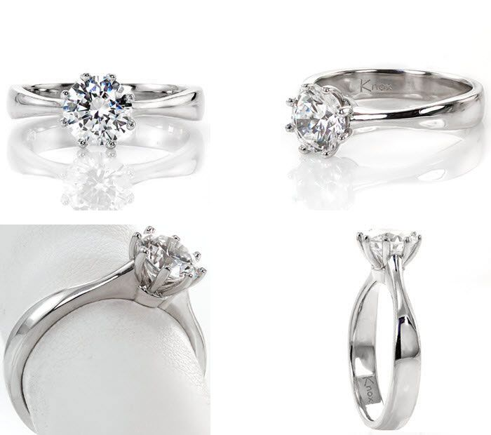 10 Unique engagement rings | Solitaire Engagement Ring | Knox Jewelers | Fab Mood