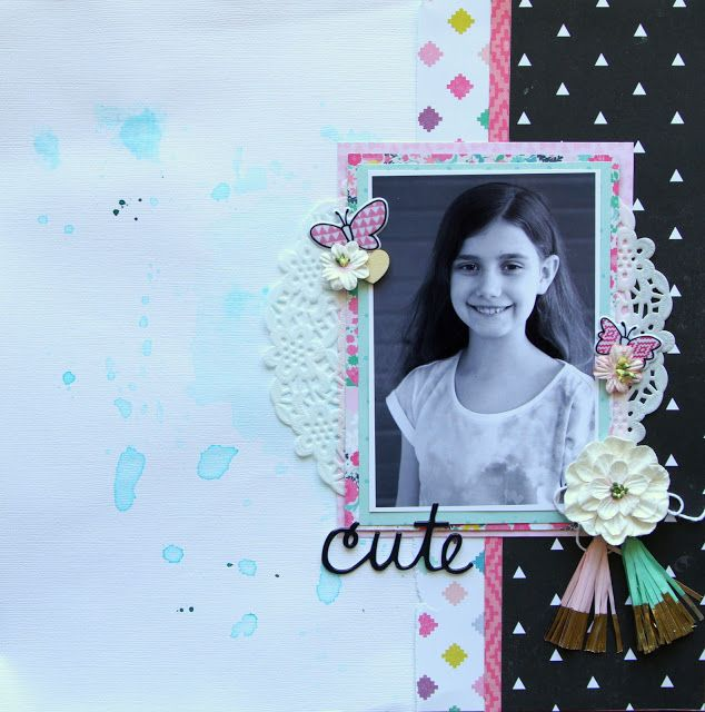 All About Scrapbooks Australia Cute With Crate Paper Cute Girl By
