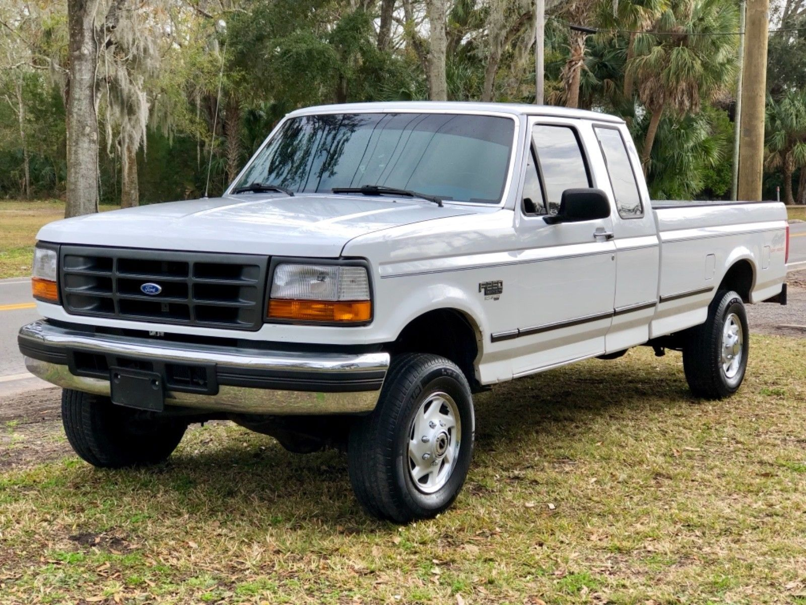 Nice Awesome 1997 Ford F 250 Xl 1997 F250 Ext Cab 4x4 126k