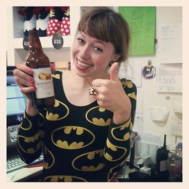 Rekorderlig, Lazy Oaf discount and Batman at the Carnaby Style Night. What more could you want?