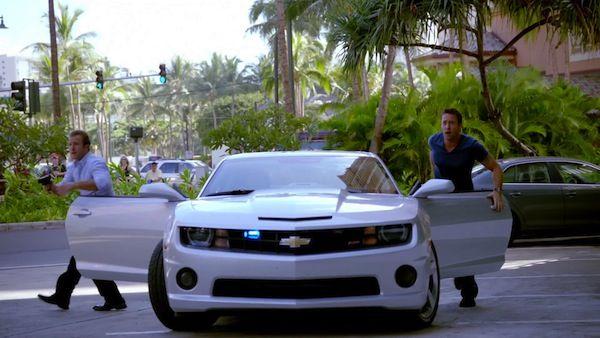 Auto De Danno Chevrolet Camaro Chevrolet Camaro Hawaii Five O