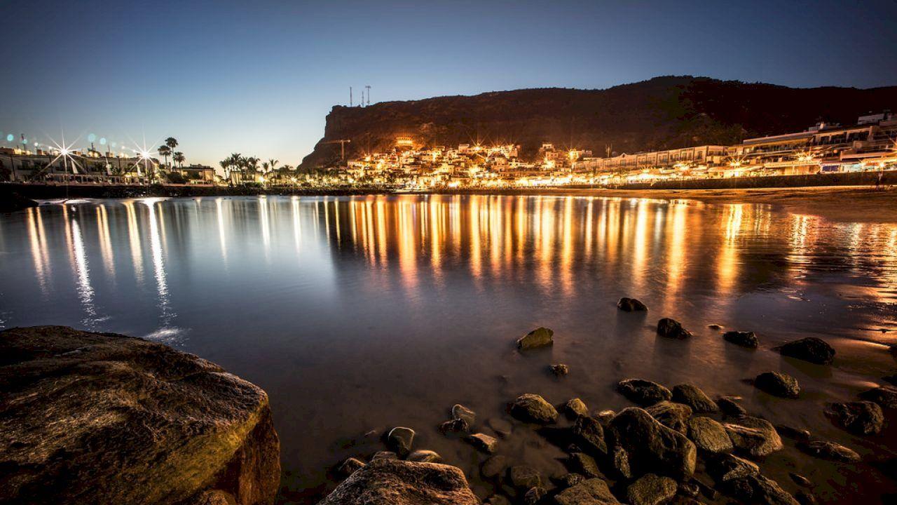 أين توجد جزر الكناري Canary Islands Canary Islands Gran Canaria Island Wallpaper