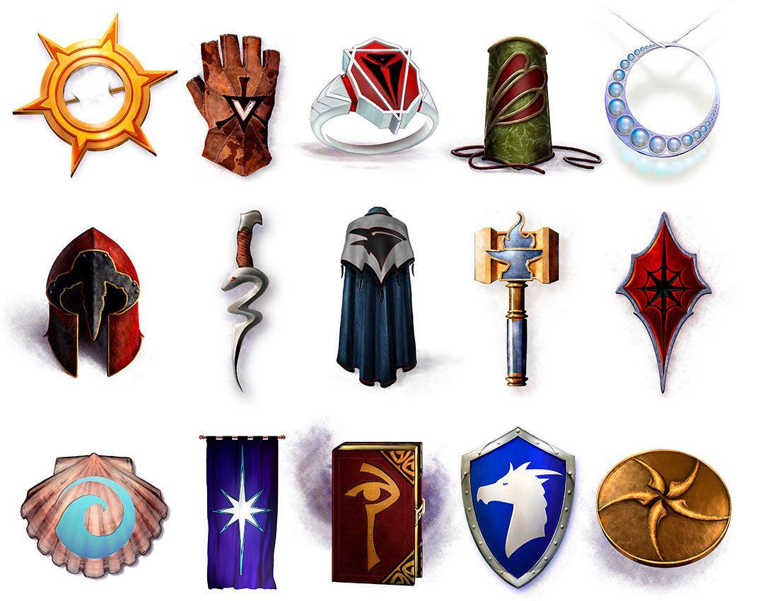 D&D: Holy Symbols in Use | RP Resources in 2019 | Holy
